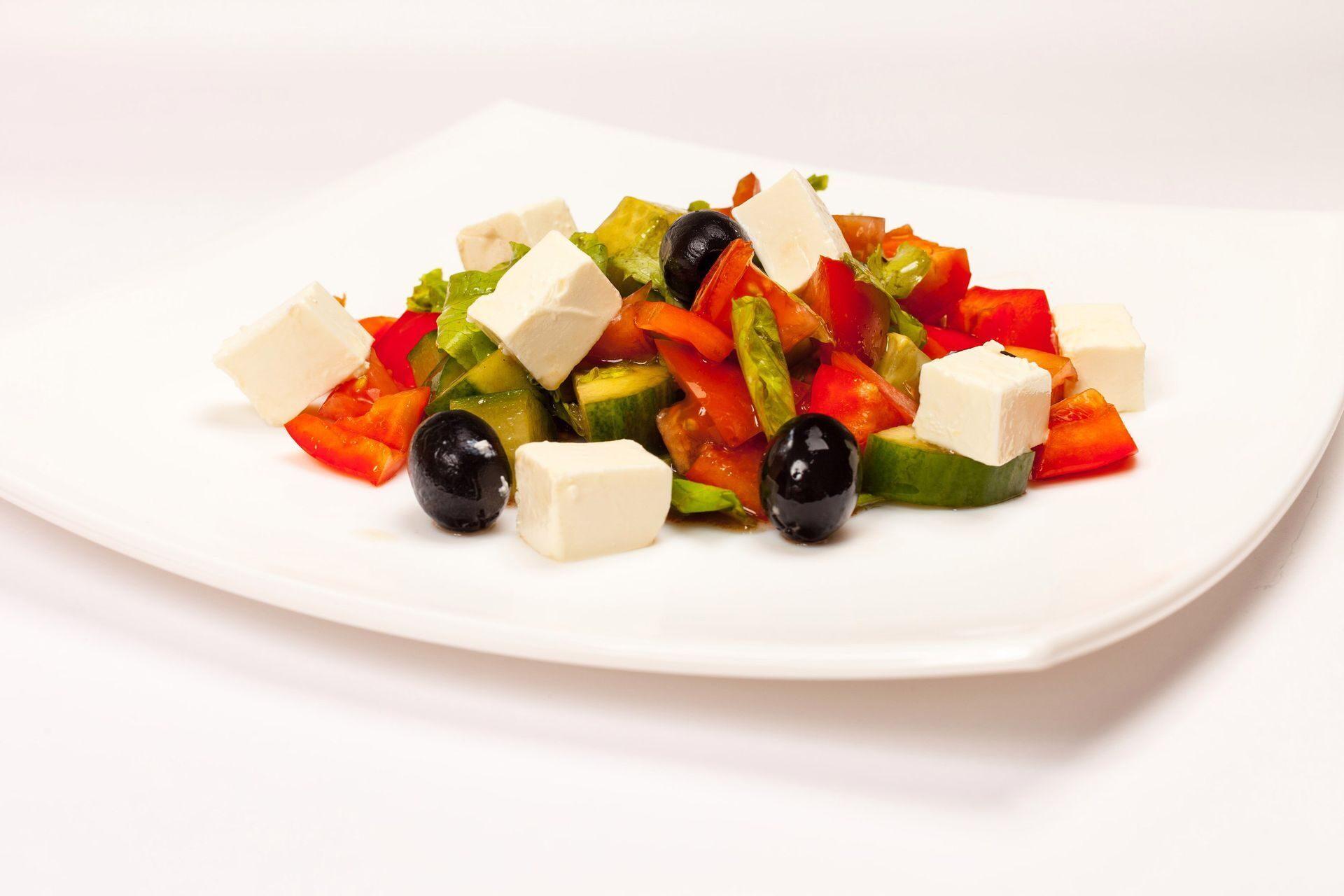 салат греческий рецепты с фото на повар ру каждого производителя